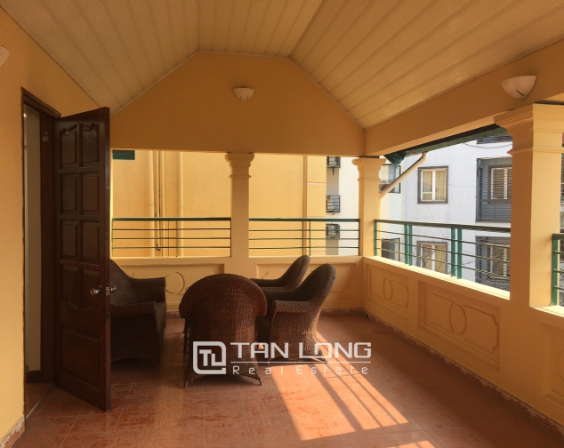 Nice villa for rent in To Ngoc Van street, Tay Ho district for lease 6