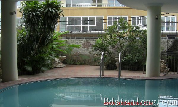Nice villa with swimming pool rental in Au Co Hanoi 5