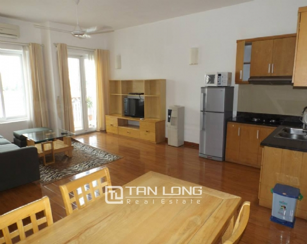 Nicely furnished apartment to rent in Pham Huy Thong, Ba Dinh, 2 beds 1
