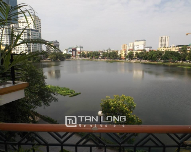 Nicely furnished apartment to rent in Pham Huy Thong, Ba Dinh, 2 beds 4