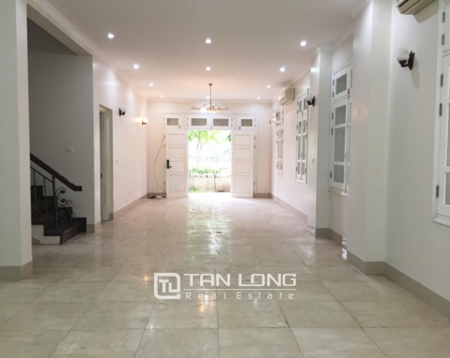 Non-furnished 4 bedroom villa for rent in T5, Ciputra, Bac Tu Liem dist, Hanoi 2
