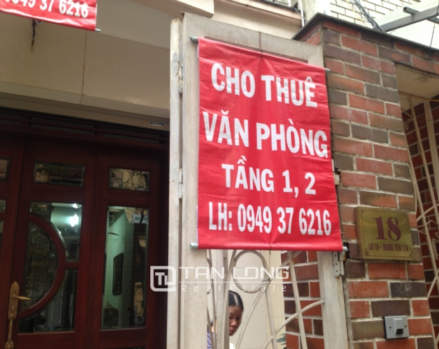 Office for rent in Trung Kinh Street, Cau Giay district 1