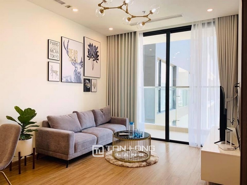 Panorama City View 2 Br | 2 Ba Apartment for rent in Vinhomes Skylake 1
