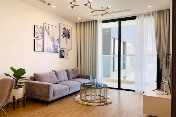 Panorama City View 2 Br | 2 Ba Apartment for rent in Vinhomes Skylake