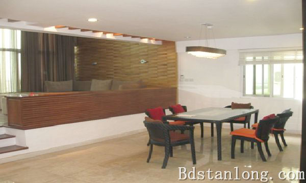 Penthouse apartment for rent in P2 Ciputra Hanoi