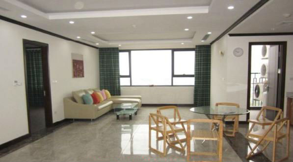 Platinum Residences Partial furnished apartment with 2 bedrooms for rent