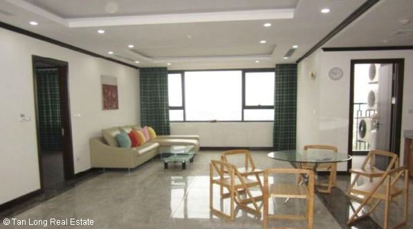 Platinum Residences Partial furnished apartment with 2 bedrooms for rent 1