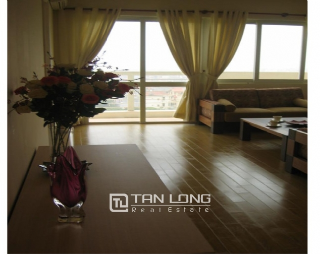 Reasonable and  nice 4 bedroom apartment with full furnished  for lease in E5 building, Ciputra, Ha Noi 4