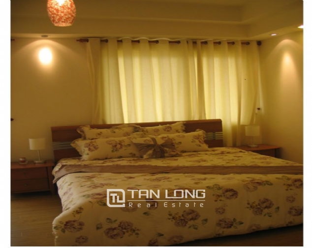 Reasonable and  nice 4 bedroom apartment with full furnished  for lease in E5 building, Ciputra, Ha Noi 5