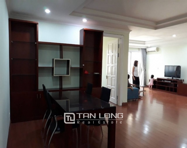 Reasonable  full furniture 3 bedroom apartment for rent in E4  Ciputra, Tay Ho, Ha Noi 1