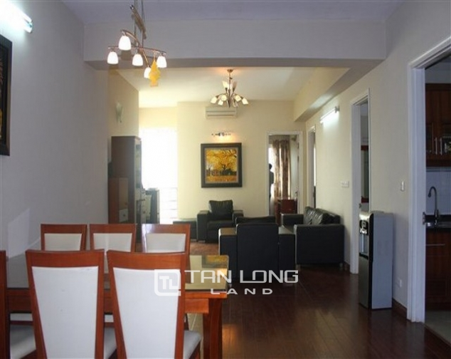 Reasonably furnished 3 bedroom apartment for rent in E4 tower Ciputra urban area 2