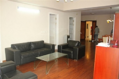 Reasonably furnished 3 bedroom apartment for rent in E4 tower Ciputra urban area