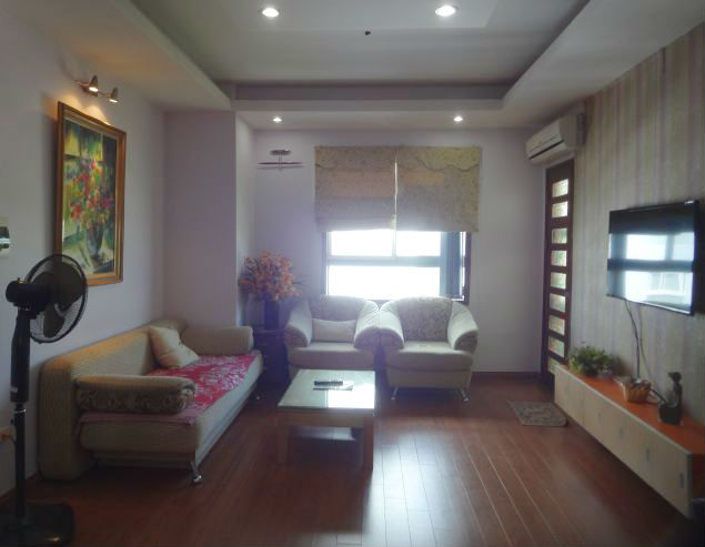 Rental 3 bedroom apartment in Veam Building, Tay Ho, Hanoi