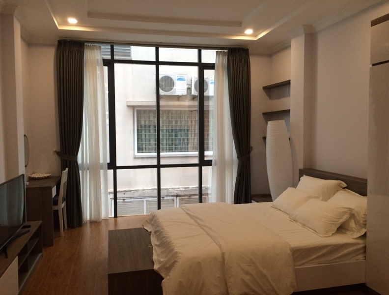 Rental studio serviced apartment in Nguyen Thi Dinh, Cau Giay district