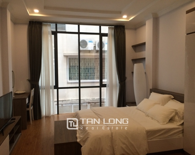 Rental studio serviced apartment in Nguyen Thi Dinh, Cau Giay district 1