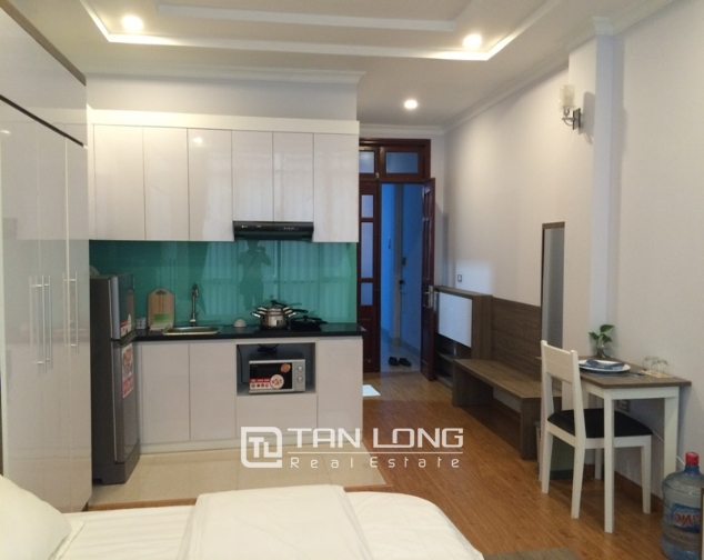 Rental studio serviced apartment in Nguyen Thi Dinh, Cau Giay district 3