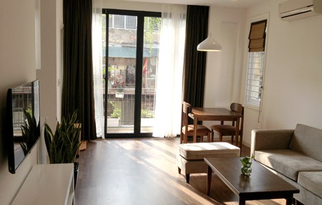 Renting 1 bedroom serviced apartment in Nguyen Chi Thanh, Dong Da district