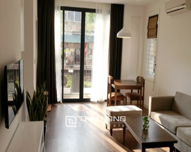 Renting 1 bedroom serviced apartment in Nguyen Chi Thanh, Dong Da district 1