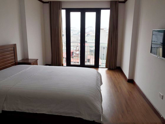 Renting 1 bedroom serviced apartment with size of 55m2 in Ly Nam De, Hoan Kiem