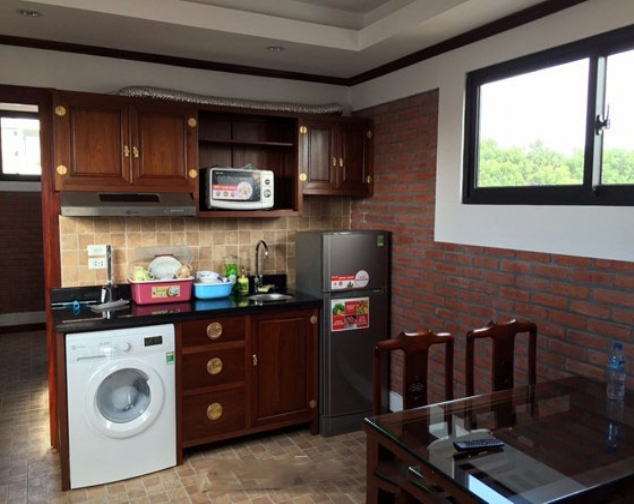 Renting 1 bedroom serviced apartment with size of 55m2 in Ly Nam De, Hoan Kiem 1