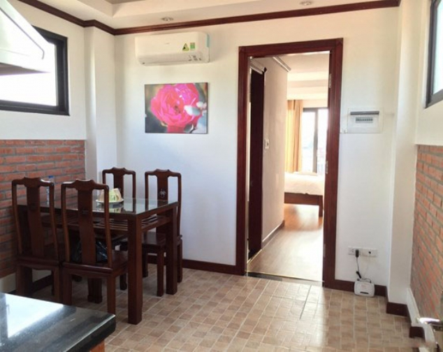 Renting 1 bedroom serviced apartment with size of 55m2 in Ly Nam De, Hoan Kiem 3