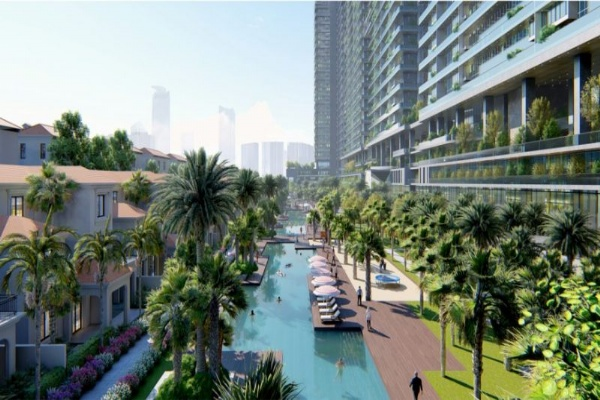 Sell Villas Sl Project Sunshine Crystal River, 200M South Direction Building 5 floors + Basement. Price 168 million / M2