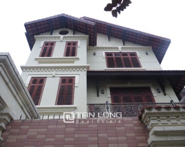 Selling 3.5 storey villa in Viet Hung urban, full furniture 1