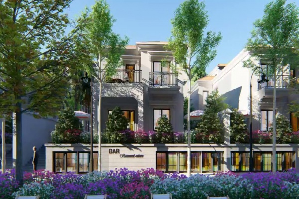 Selling Sunshine Crystal River duplex villas with diplomatic capacity, 30m street, south direction, 188m2 - 200m2