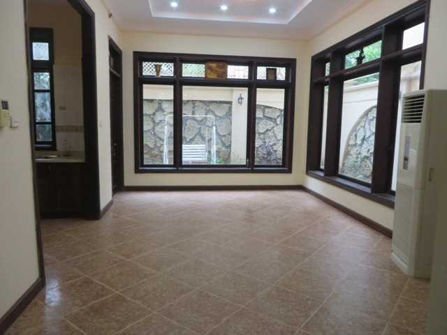 Semi furnished 4 bedroom villa for rent in G1 area, Ciputra, Bac Tu Liem dist, Hanoi