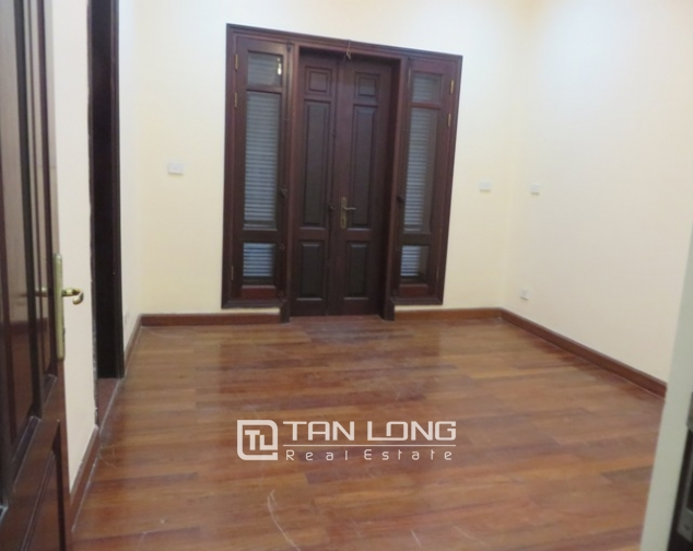 Semi furnished 4 bedroom villa for rent in G1 area, Ciputra, Bac Tu Liem dist, Hanoi 8