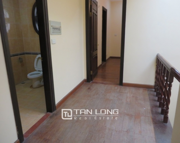 Semi furnished 4 bedroom villa for rent in G1 area, Ciputra, Bac Tu Liem dist, Hanoi 10