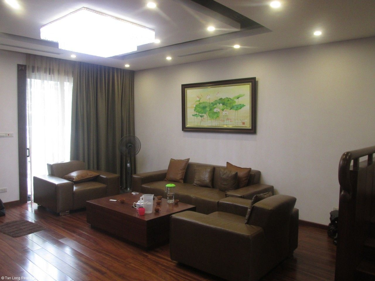 Semi-detached villa for rent in Gamuda Garden, Hoang Mai District 3