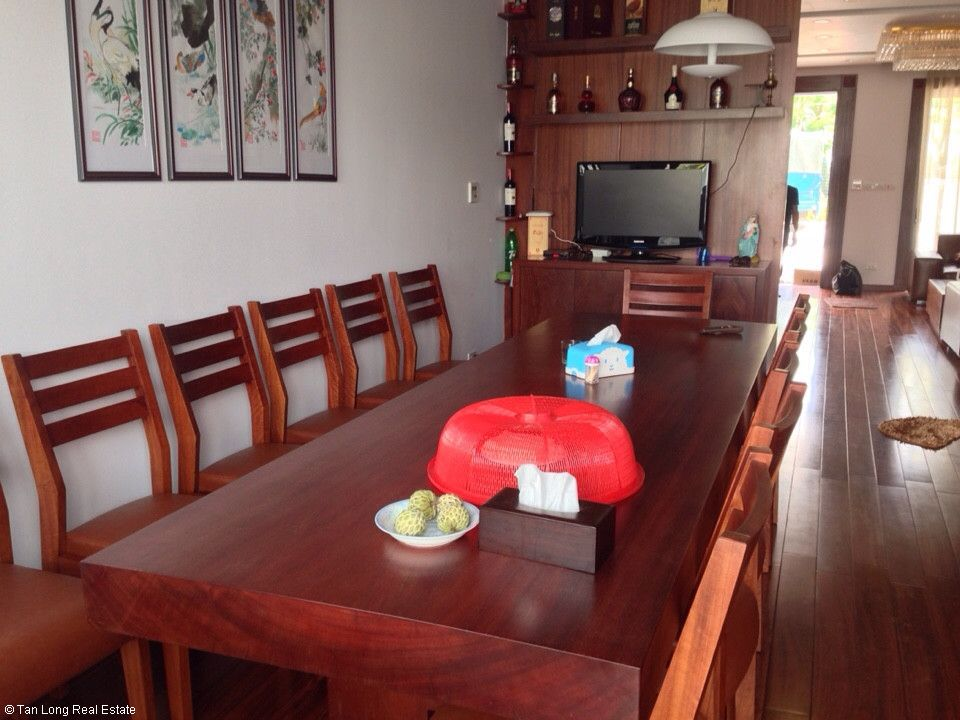 Semi-detached villa for rent in Gamuda Garden, Hoang Mai District 6