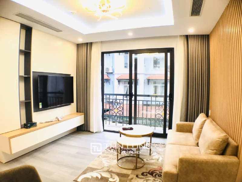 Service apartment for rent in To Ngoc Van street, Tay Ho district 6