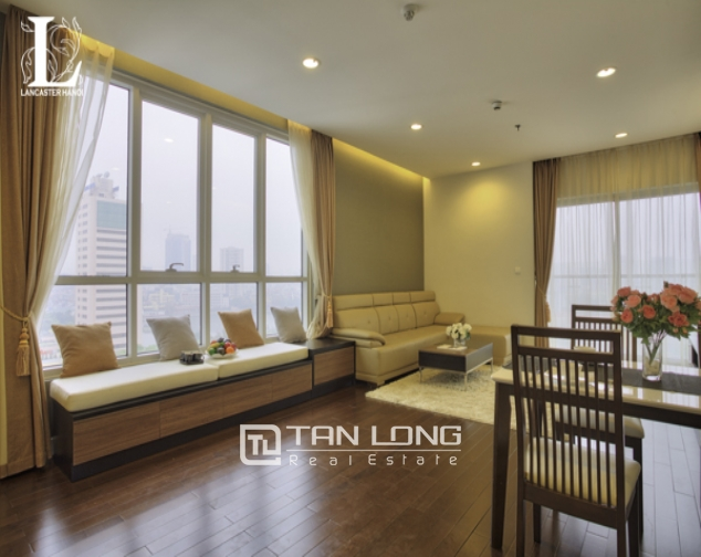 Serviced 2 bedroom apartment for rent in Lancaster Hanoi 1