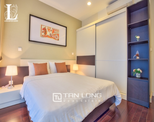 Serviced 2 bedroom apartment for rent in Lancaster Hanoi 3
