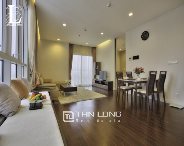 Serviced 2 bedroom apartment for rent in Lancaster Hanoi 6
