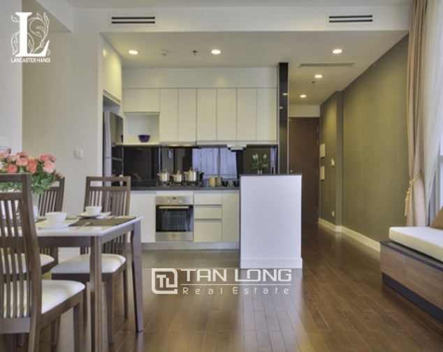 Serviced 2 bedroom apartment for rent in Lancaster Hanoi 7