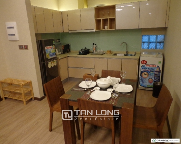 Serviced 2 bedroom apartment for rent on 535 Lane, Kim Ma, Ba Dinh 2
