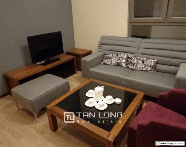 Serviced 2 bedroom apartment for rent on 535 Lane, Kim Ma, Ba Dinh 3