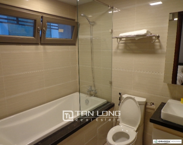 Serviced 2 bedroom apartment for rent on 535 Lane, Kim Ma, Ba Dinh 7