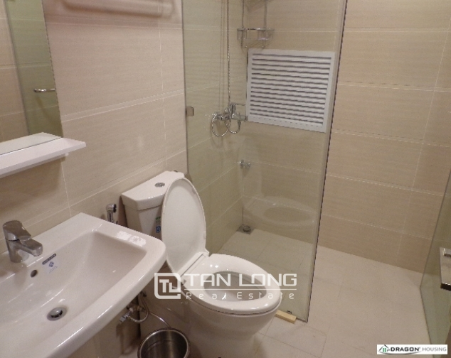 Serviced 2 bedroom apartment for rent on 535 Lane, Kim Ma, Ba Dinh 9