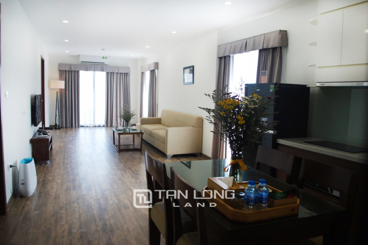 Serviced 2 bedroom apartment for rent on Kim Ma Thuong street, Ba Dinh 8