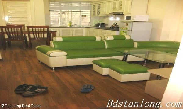 Serviced apartment for lease in Nguyen Khang street 1