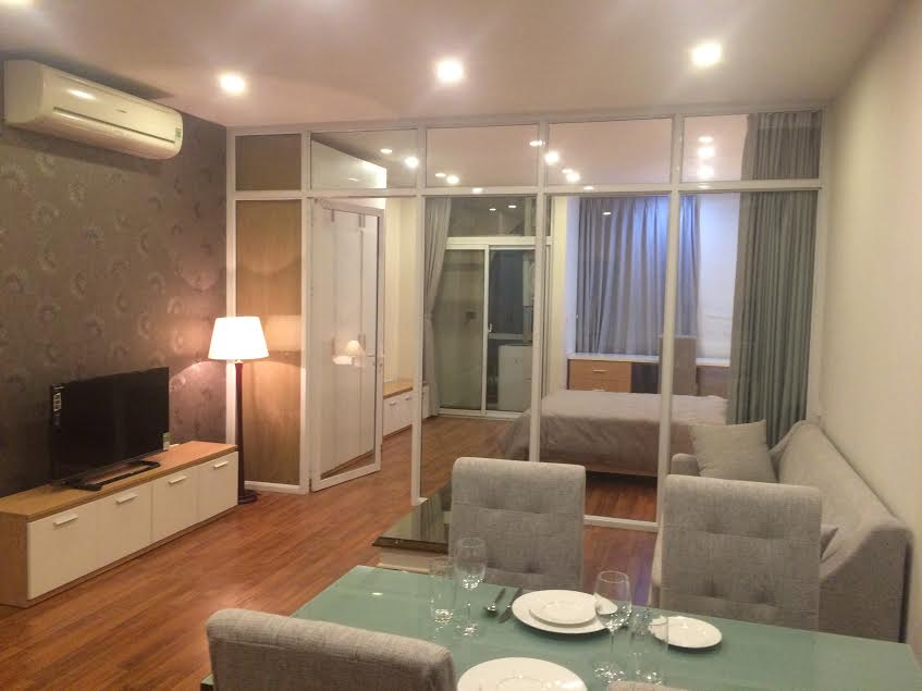 Serviced apartment for rent in Quan Hoa street, Nghia Do ward, Cau Giay district, Hanoi