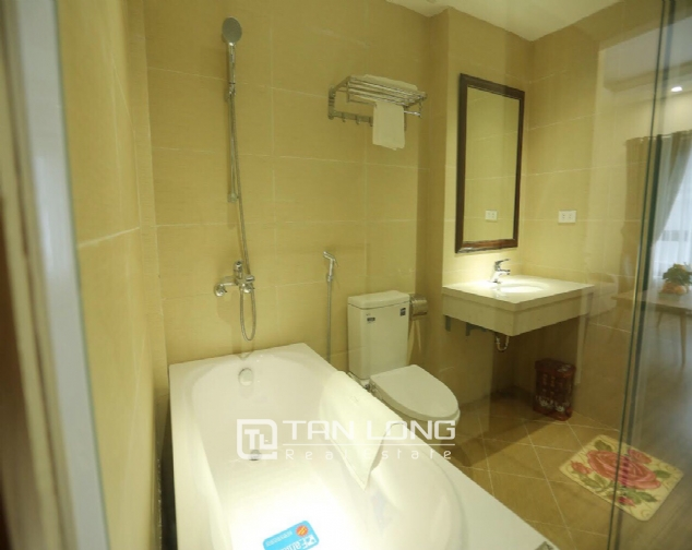 Serviced apartment for rent on Buoi street, Ba Dinh district 6
