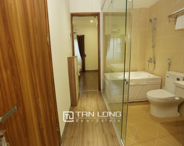 Serviced apartment for rent on Buoi street, Ba Dinh district 7