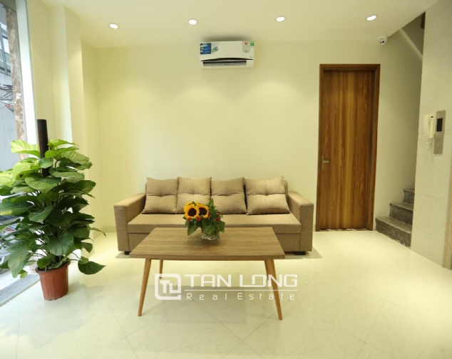 Serviced apartment for rent on Buoi street, Ba Dinh district 8