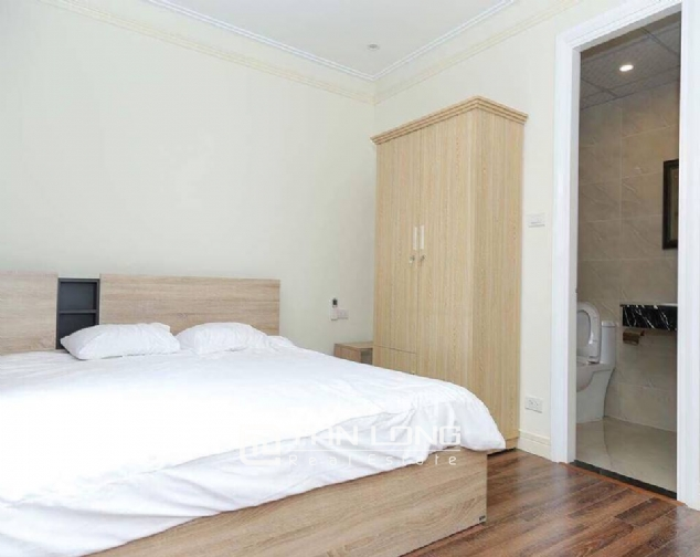 Serviced apartment for rent on Doi Can street Ba Dinh 3