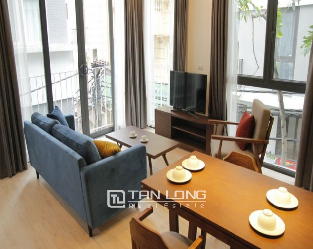 Serviced apartment for rent on Kim Ma street, 2 bedrooms 1